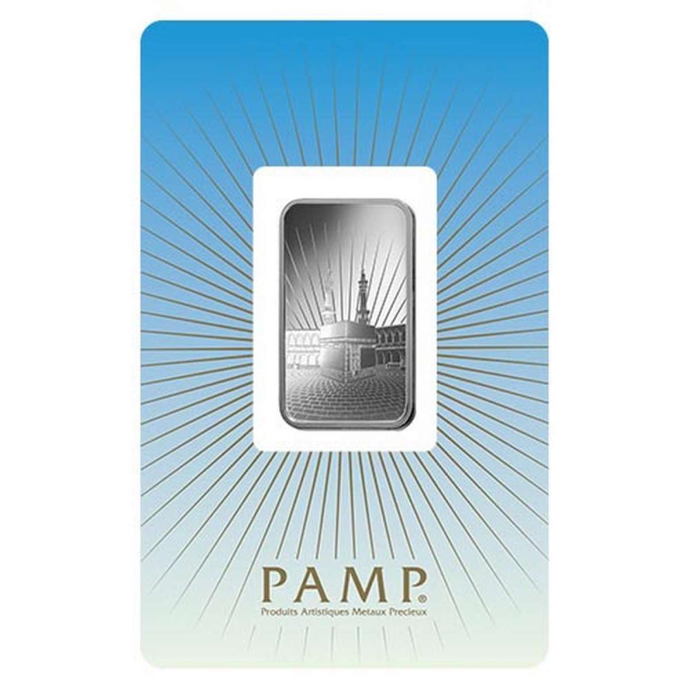 PAMP Suisse Silver Bar 10 Gram - Ka?bah Mecca #1AC96579