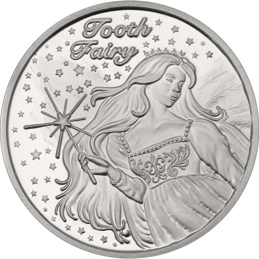 Tooth Fairy .999 Silver 1 oz Round #1AC96562