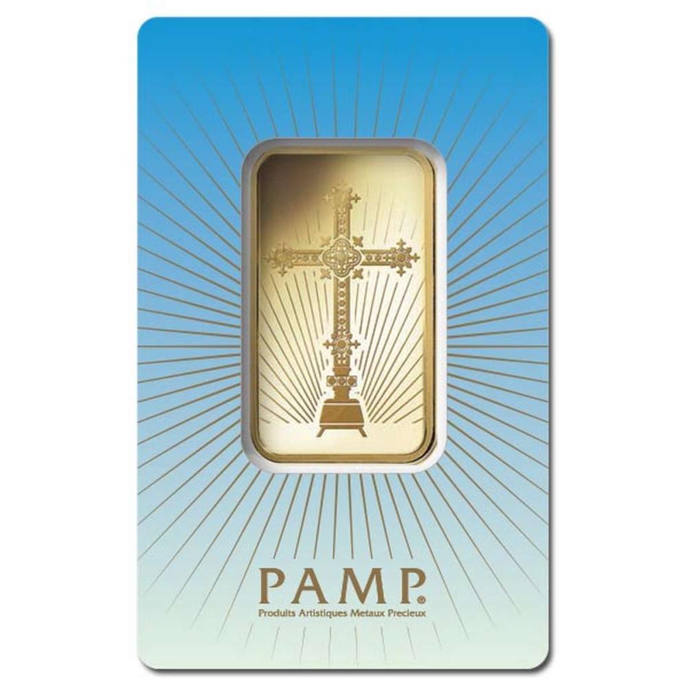PAMP Suisse 1 Ounce Gold Bar - Romanesque Cross #1AC96467