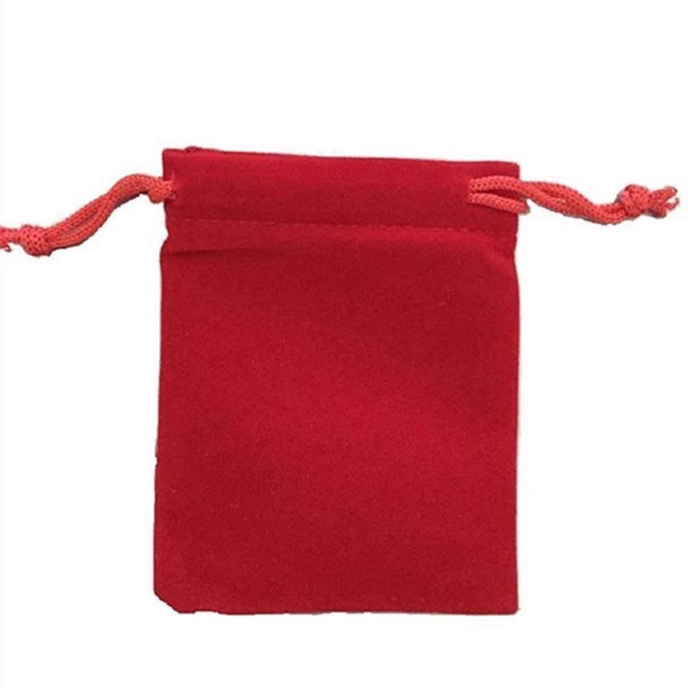 Red Velvet Coin Gift Bag #1AC96636
