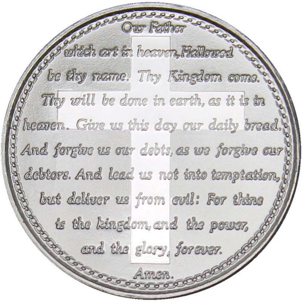 Lords Prayer .999 Silver 1 oz Round #1AC96574