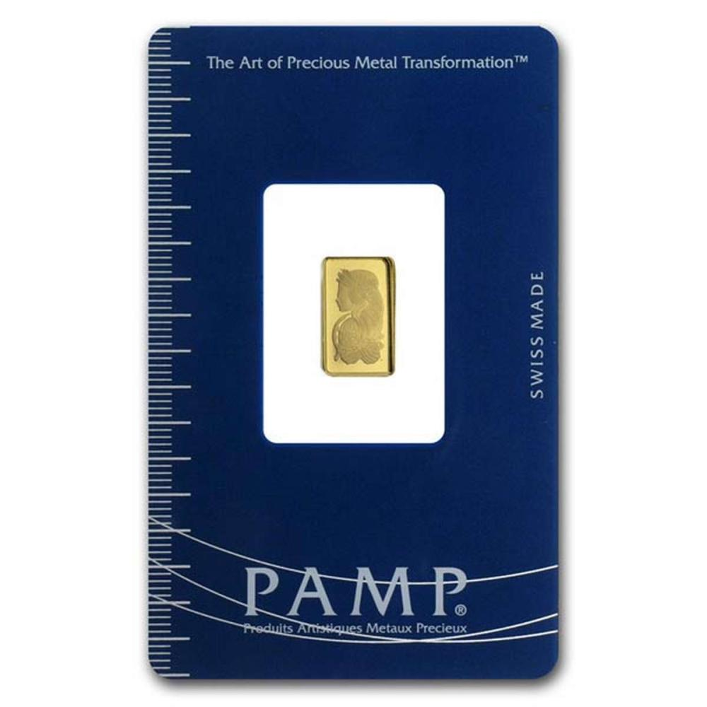 PAMP Suisse One Gram Gold Bar #1AC96480