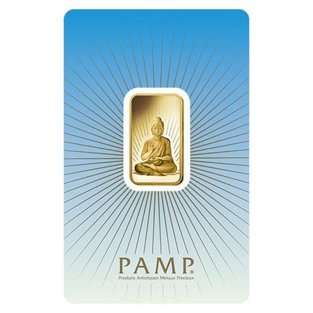PAMP Suisse 10 Gram Gold Bar - Buddha #1AC96486
