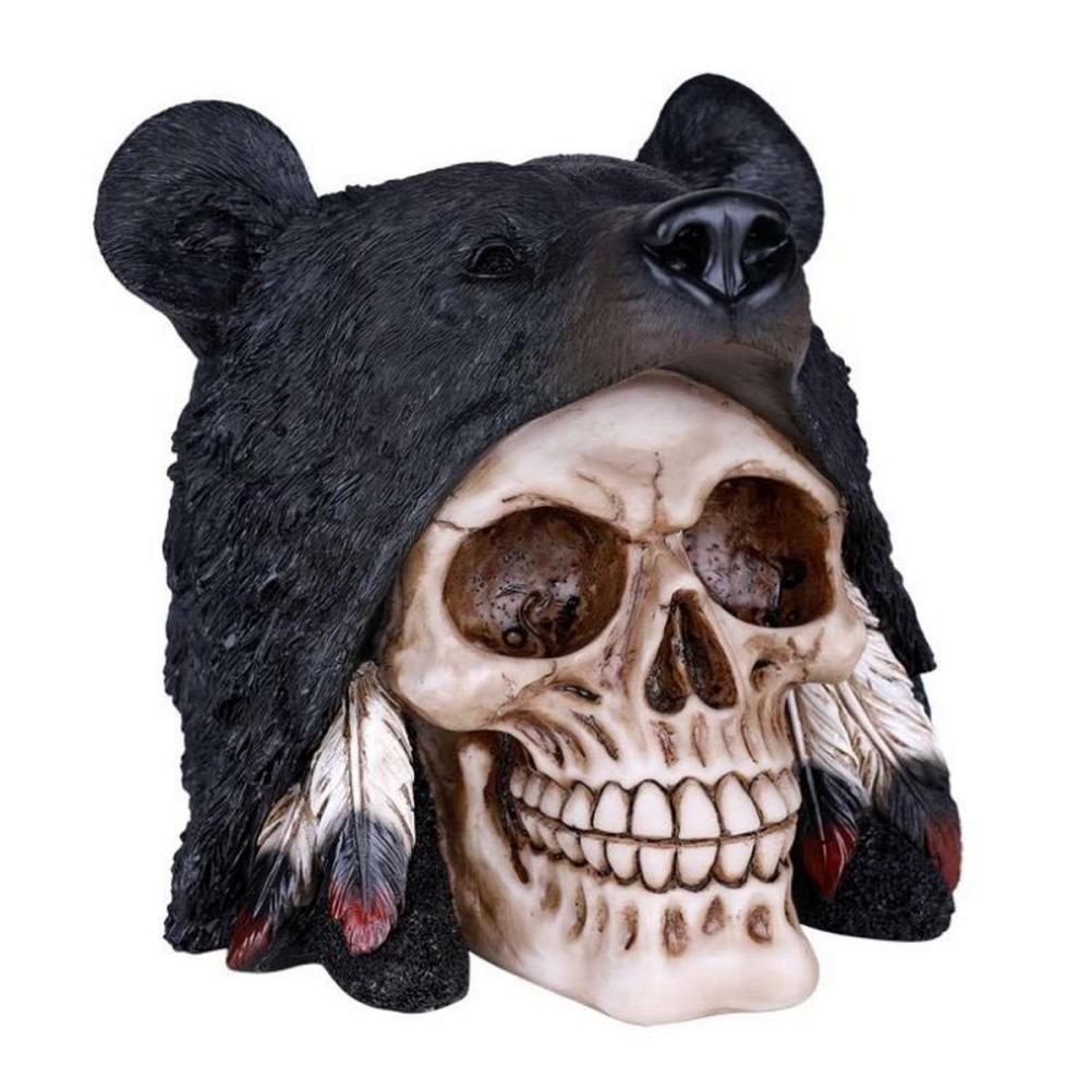 BLACK BEAR SKULL #1AC26871