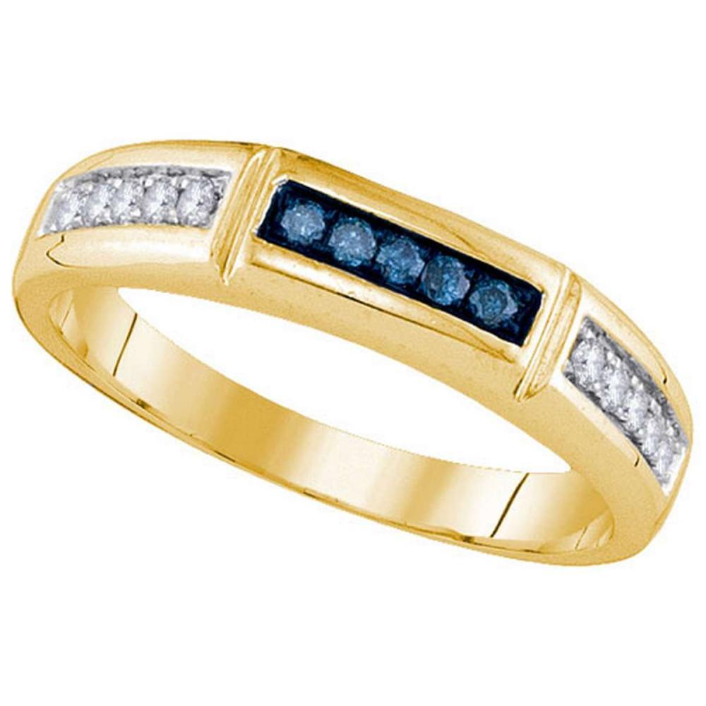 14KT Yellow Gold 0.26CTW DIAMOND FASHION BAND #1AC64662