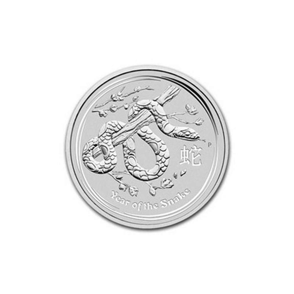 2013 Australia 1/2 oz Silver Lunar Snake #1AC81412