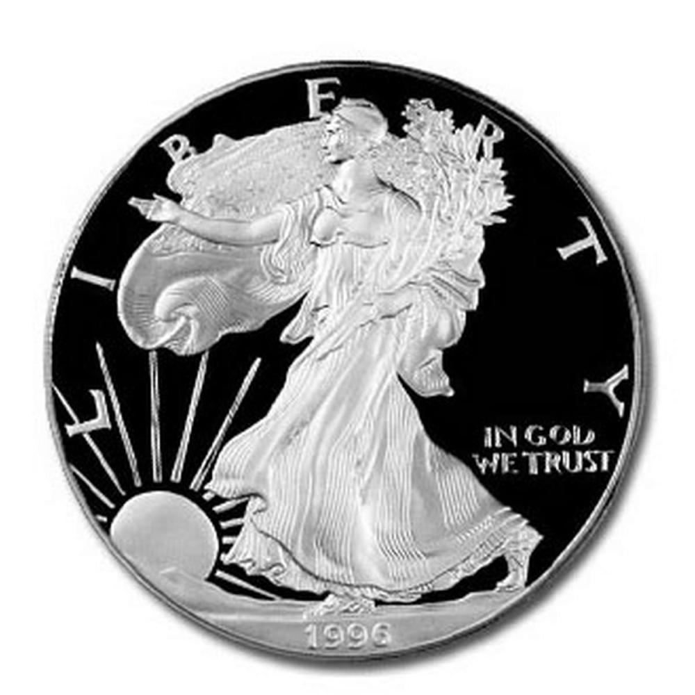 Proof Silver Eagle 1996-P #1AC98271