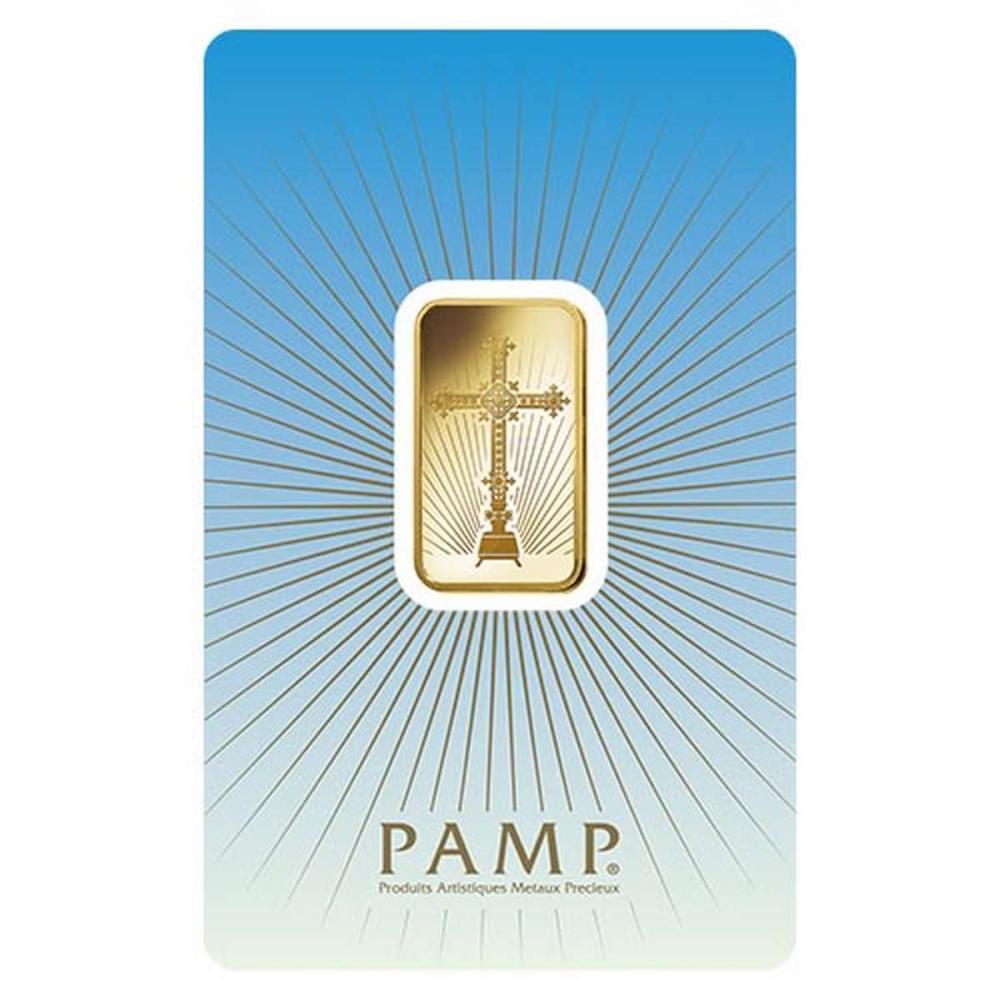 PAMP Suisse 10 Gram Gold Bar - Romanesque Cross #1AC96489
