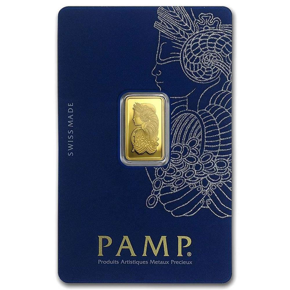 PAMP Suisse 2.5 Gram Gold Bar #1AC96481