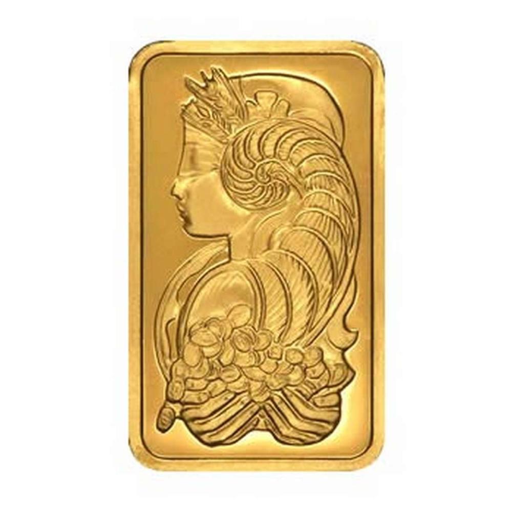 PAMP Suisse 100 Gram Gold Bar - Fortuna Design #1AC96477