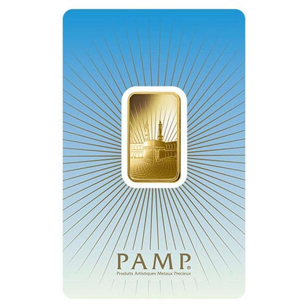 PAMP Suisse 10 Gram Gold Bar - Ka?Bah Mecca #1AC96487