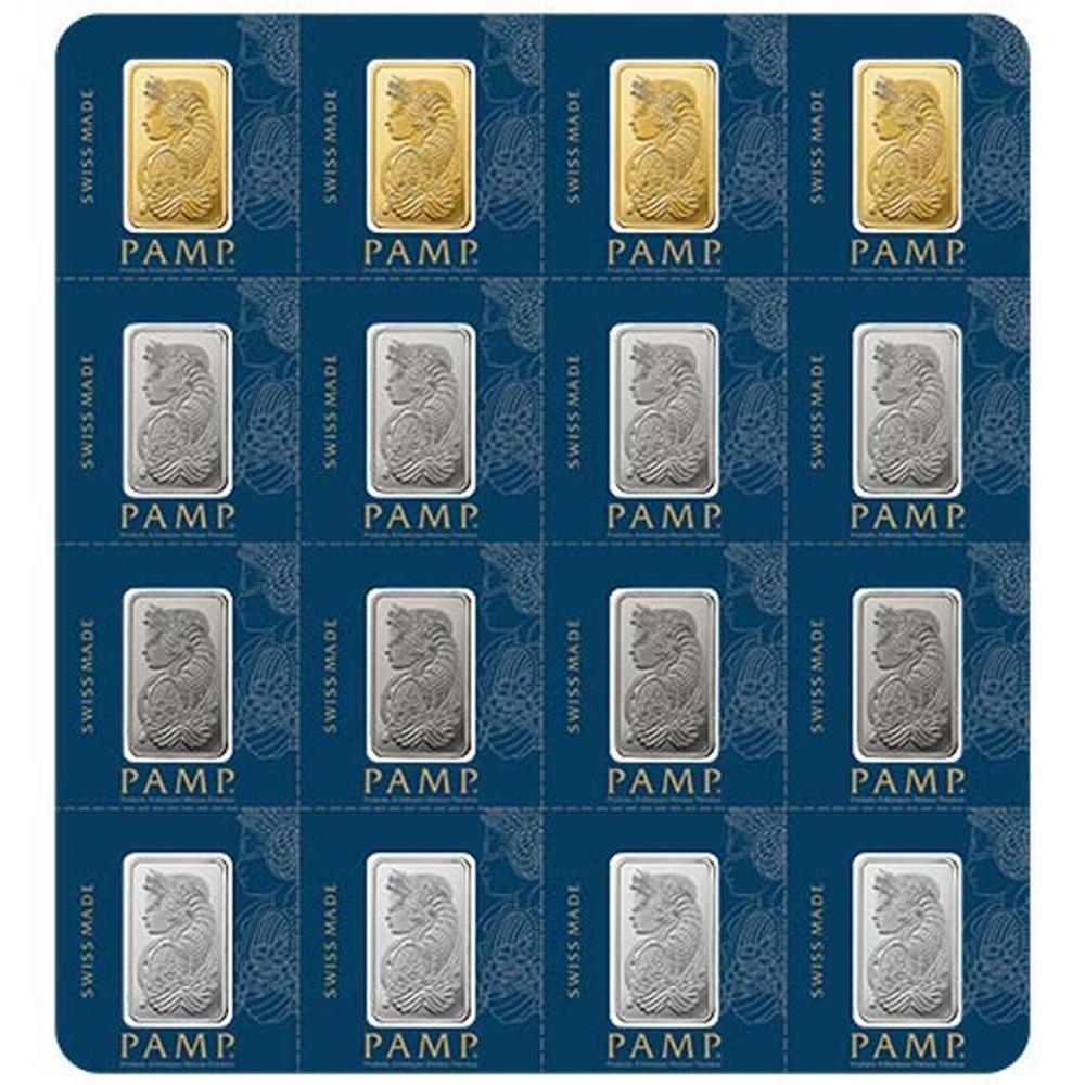 PAMP Suisse 2.5 Gram Portfolio Bar - MULTIGRAM Design #1AC96466