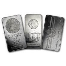 10 oz Silver Bar - Secondary Market (one piece per lot)
