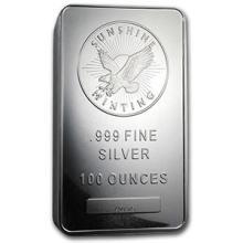 100 oz Silver Bar - Sunshine (MintMark SI)