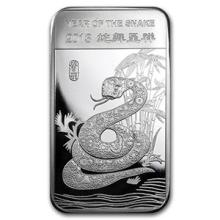 5 oz Silver Bar - (2013 Year of the Snake)