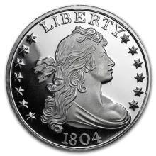 1 oz Silver Round - 1804 Silver Dollar (LOT OF 2)
