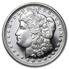 1/2 oz Silver Round - Morgan Dollar Design (LOT OF 3)