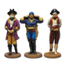 See, Hear, & Speak No Evil Pirates Figurines