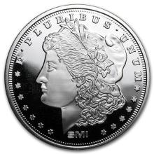 1 oz Silver Round - Morgan Dollar (MintMark SI) (LOT OF 2)