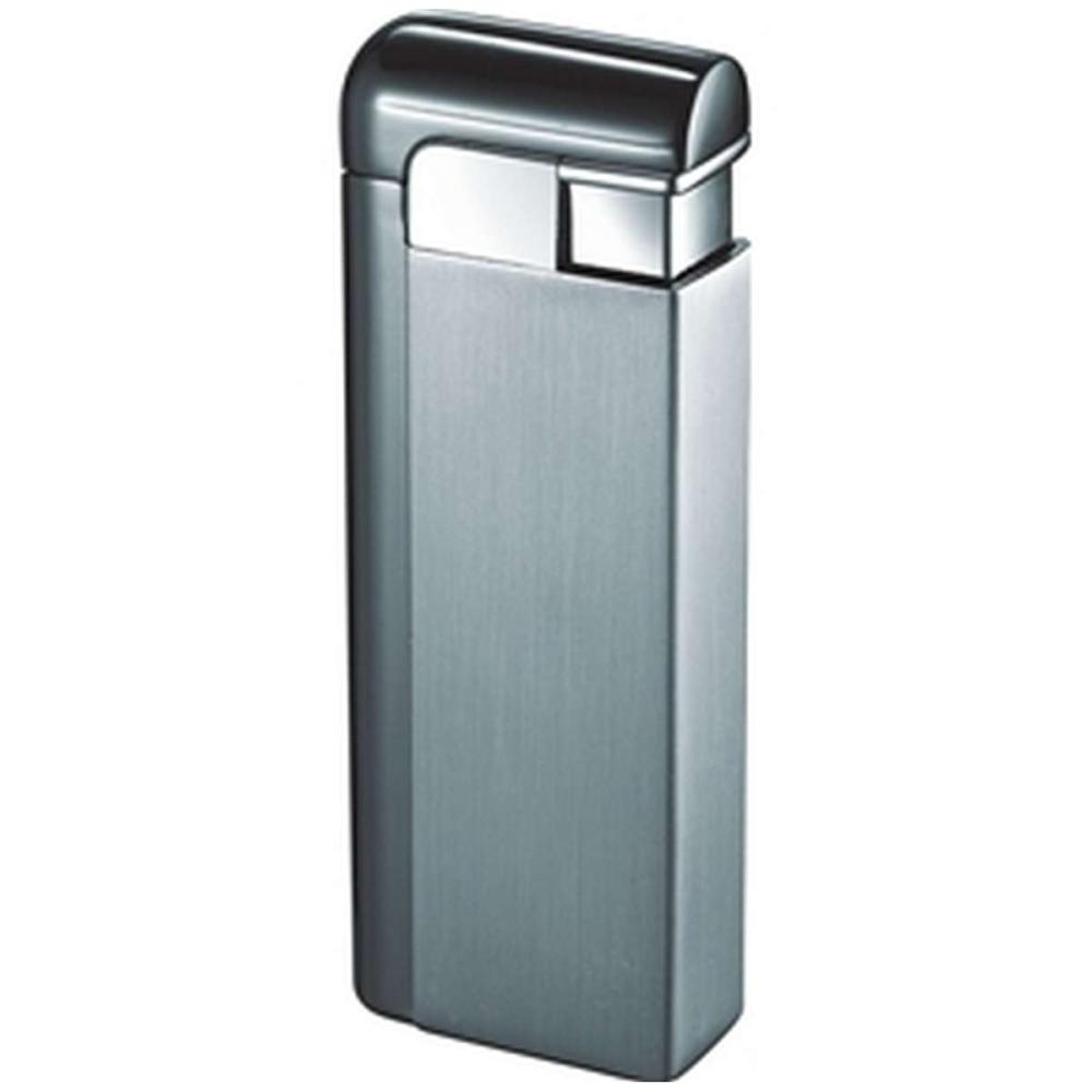 Russo Satin Gunmetal Wind-Resistant Jet Flame Lighter