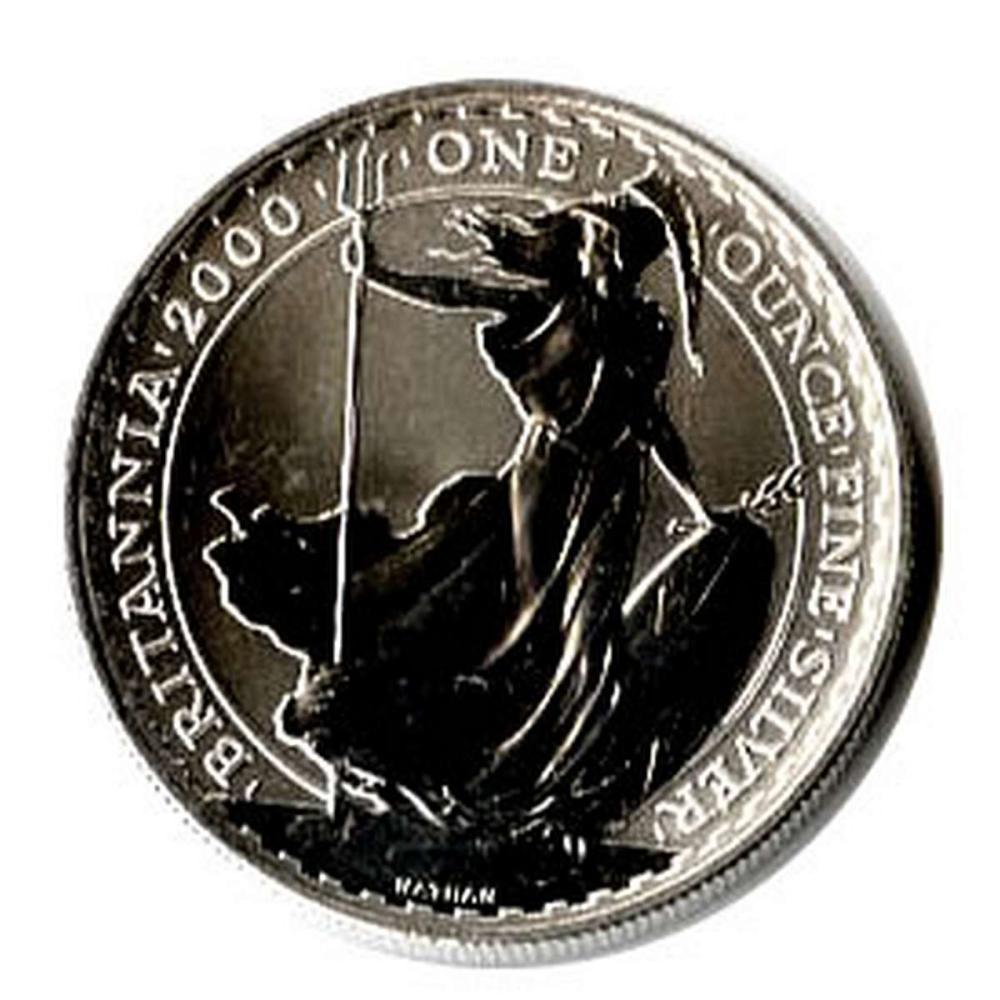 Uncirculated Silver Britannia 1 oz 2000