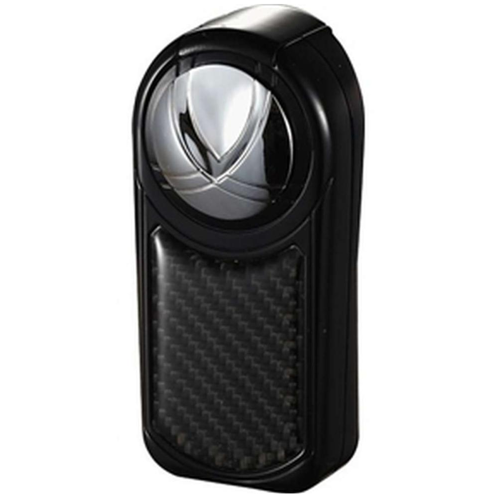 Dobrev III Triple Jet Flame Black Carbon Fiber Cigar Lighter