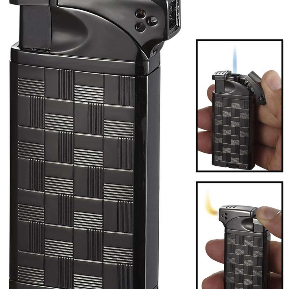 Coppia All-in-One Gunmetal Cigar Cigarette and Pipe Lighter