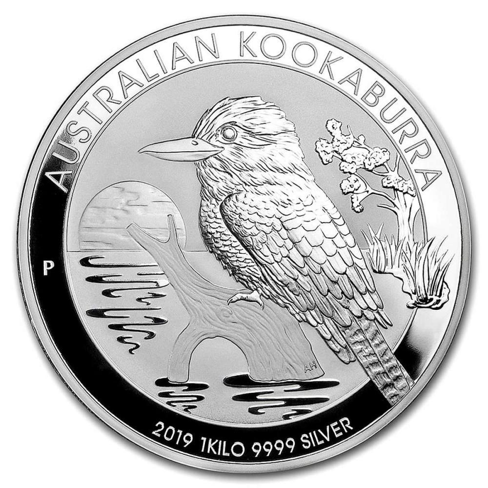 Australian Kookaburra Kilo Silver 2019