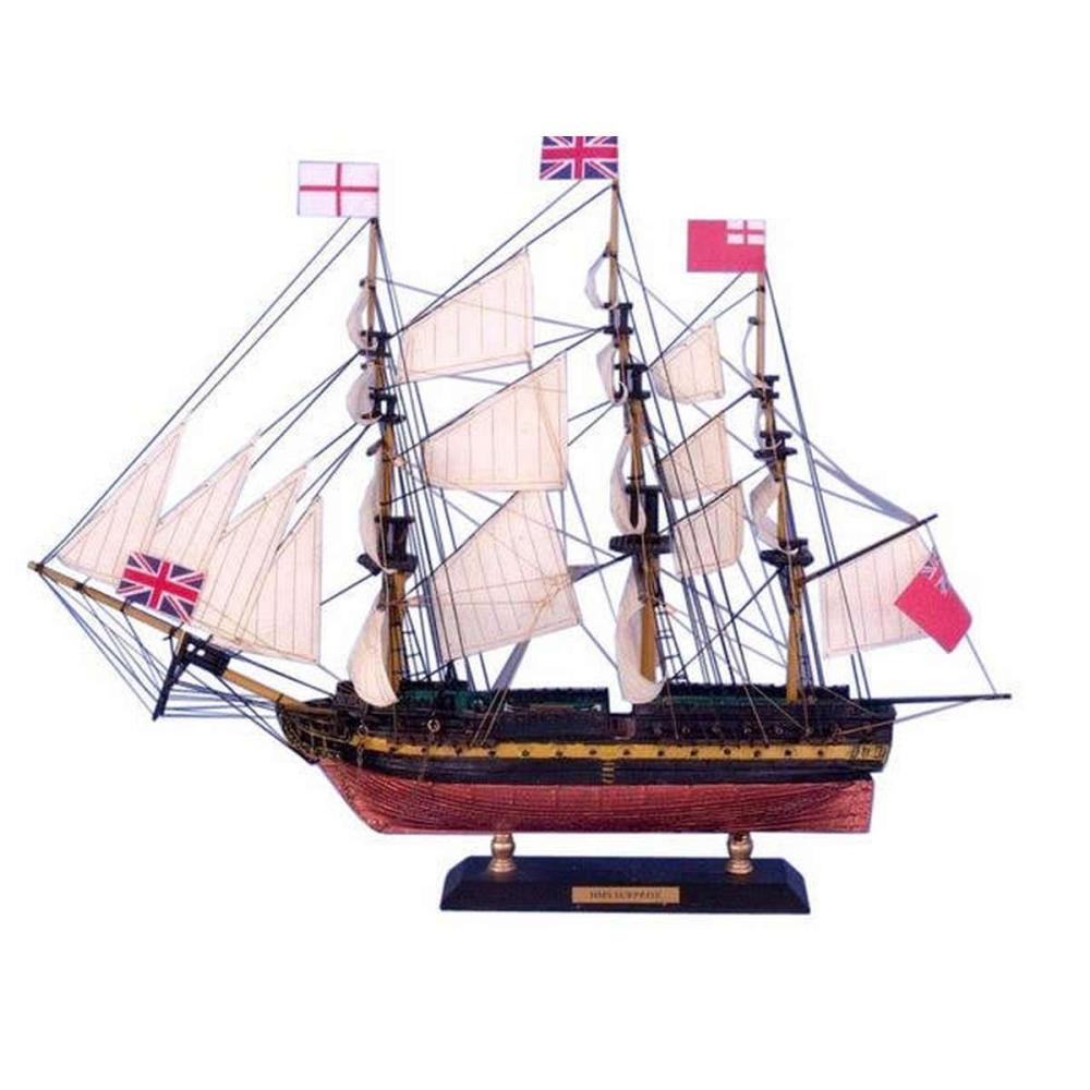 Master And Commander HMS Surprise Limited Tall Model Ship 15in.
