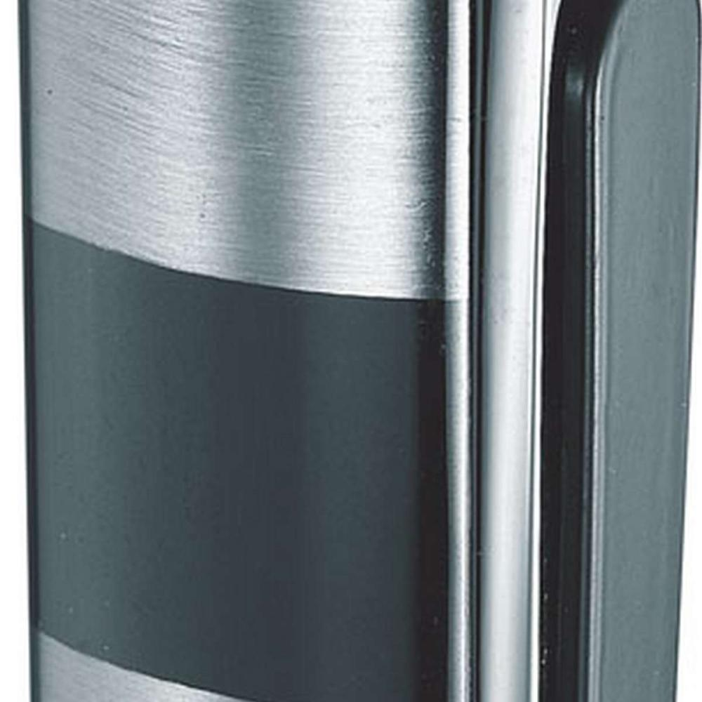 Dante Single Jet Flame Lighter - Silver
