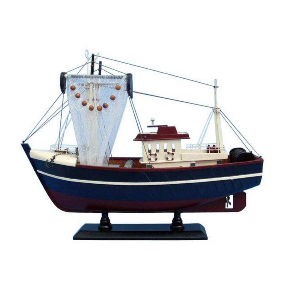 Wooden Fishin Magician Model Boat 18in.
