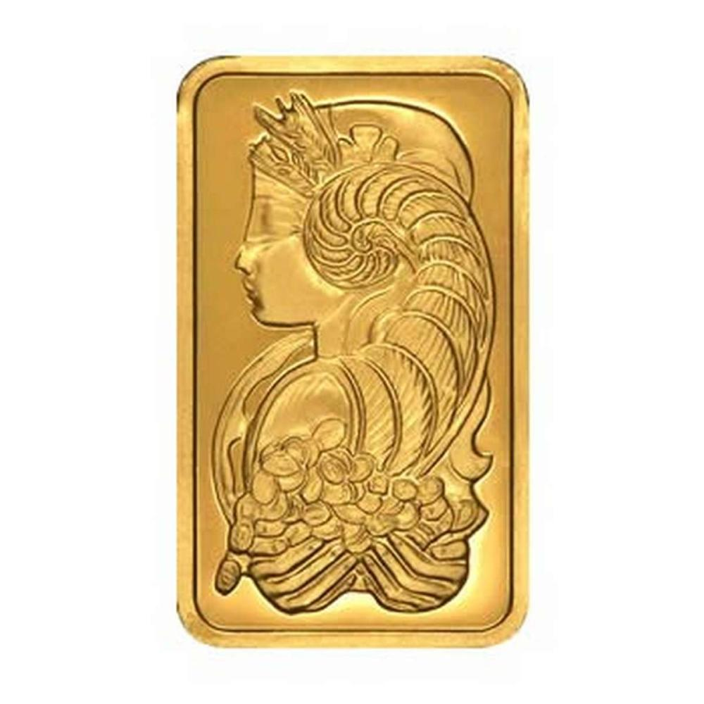 PAMP Suisse 100 Gram Gold Bar - Fortuna Design