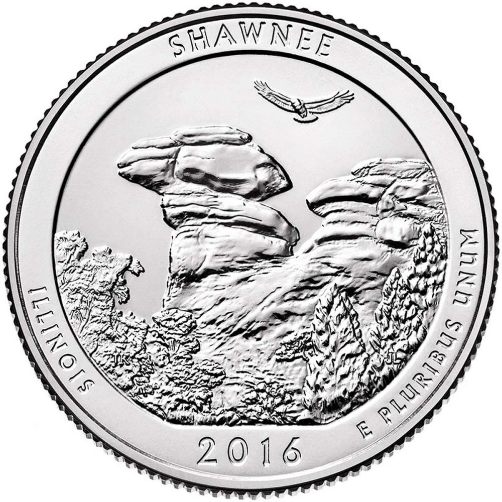 2016 Silver 5oz. Shawnee National Forest ATB