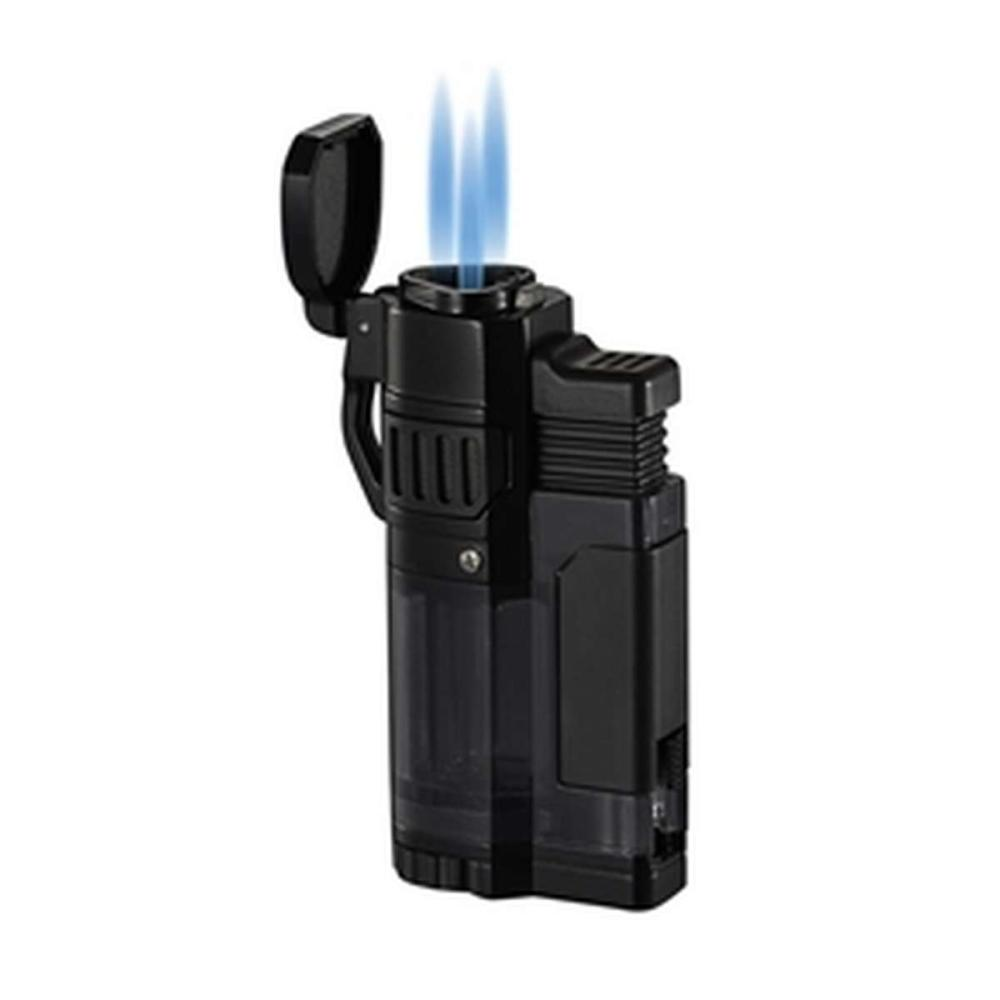 Torre Black Matte Triple Flame Torch Lighter