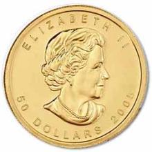 1 oz Canadian Gold Maple Leaf Uncirculated - Random Year