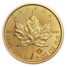 2017 1 oz Canadian Gold Maple Leaf Uncirculated
