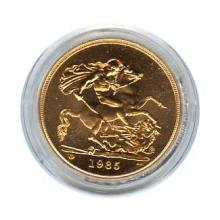 Great Britain 5lb Five Pound Uncirculated Gold Coin (weight 1.177) Dates Our Choice