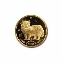 Isle of Man Gold Cat Tenth Ounce 1989