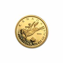 Canada 25th Ounce Gold PF 2006 Cowboy