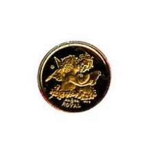 Gibraltar Tenth Ounce Gold Royal Cherub (dates our choice)