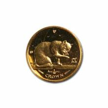 Isle of Man Gold Cat Tenth Ounce 1999