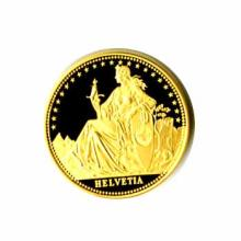 Swiss Gold Helvetia Half Ounce (dates our choice)