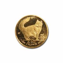 Isle of Man Gold Cat Tenth Ounce 1991