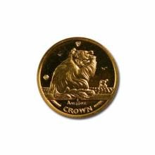 Isle of Man Gold Cat Tenth Ounce 1995