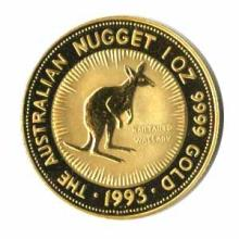 Australian Gold Nugget / Kangaroo One Ounce (dates our choice)