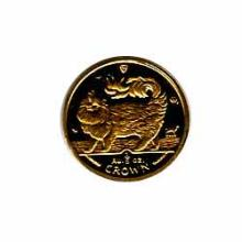Isle of Man Gold Cat Fifth Ounce 1993