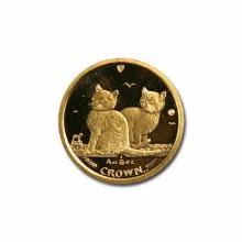 Isle of Man Gold Cat Tenth Ounce 2003