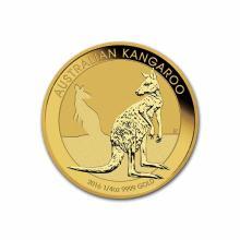 2016 Australia Gold Kangaroo 1/4 oz
