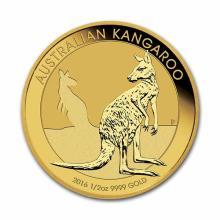 2016 Australia Gold Kangaroo 1/2 oz