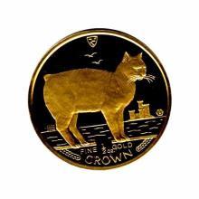 Isle of Man Gold Cat Half Ounce 1988